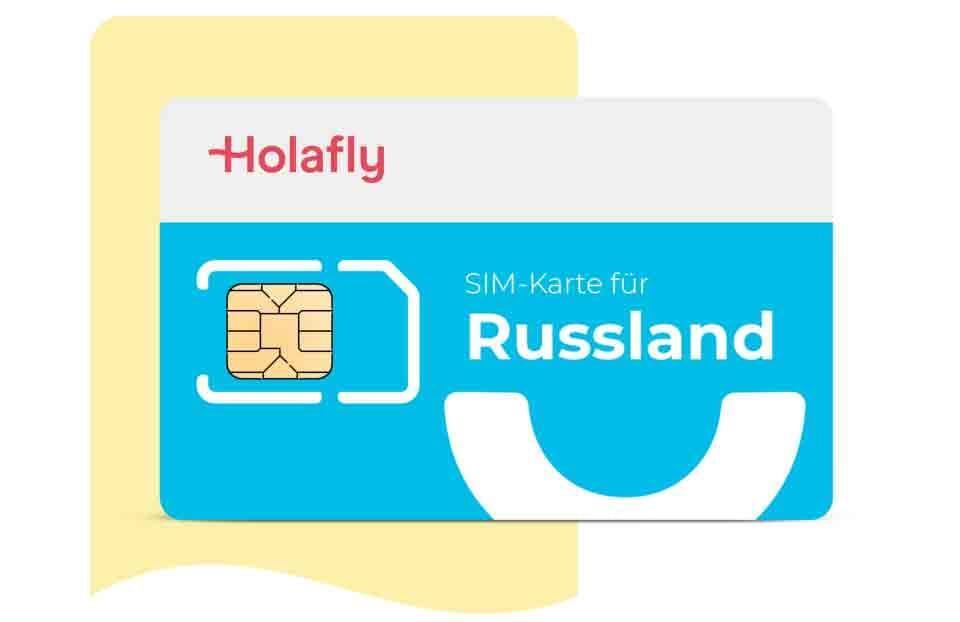 SIM karte Russland von Holafly