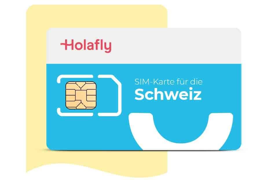 SIM-Karte für die Schweiz roaming