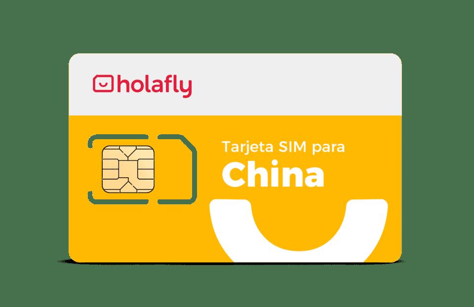 tarjeta SIM China de Holafly