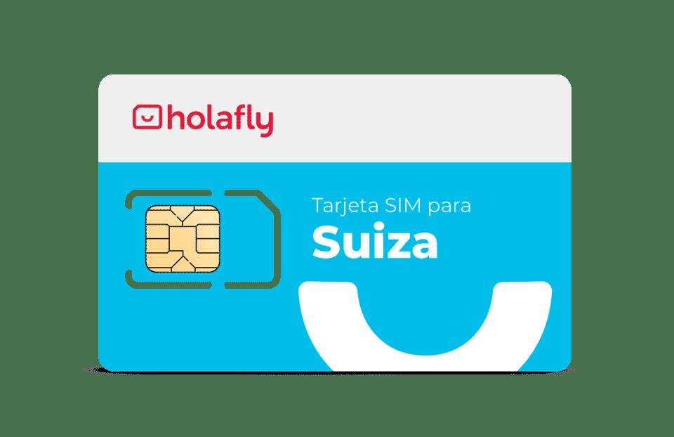 SIM prepago Suiza de Holafly