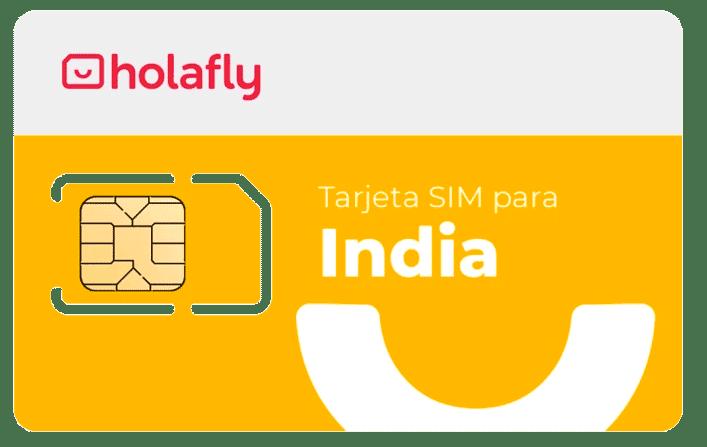 tarjeta SIM India Holafly