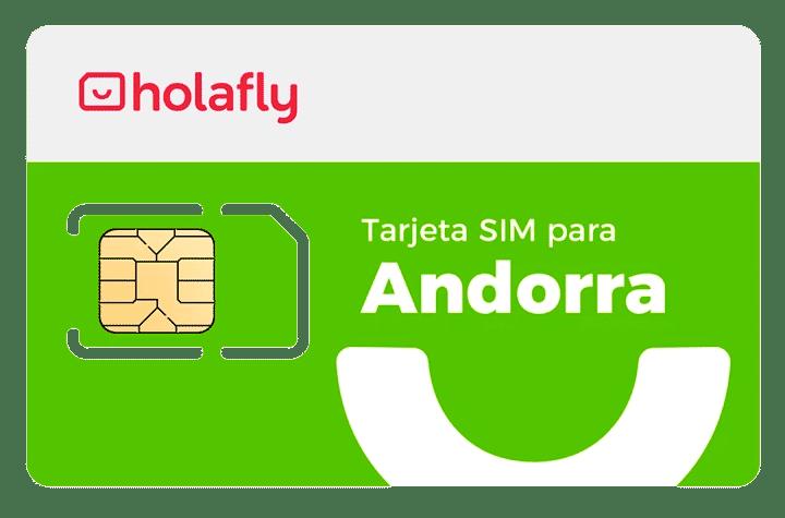 Tarjeta SIM prepago Andorra