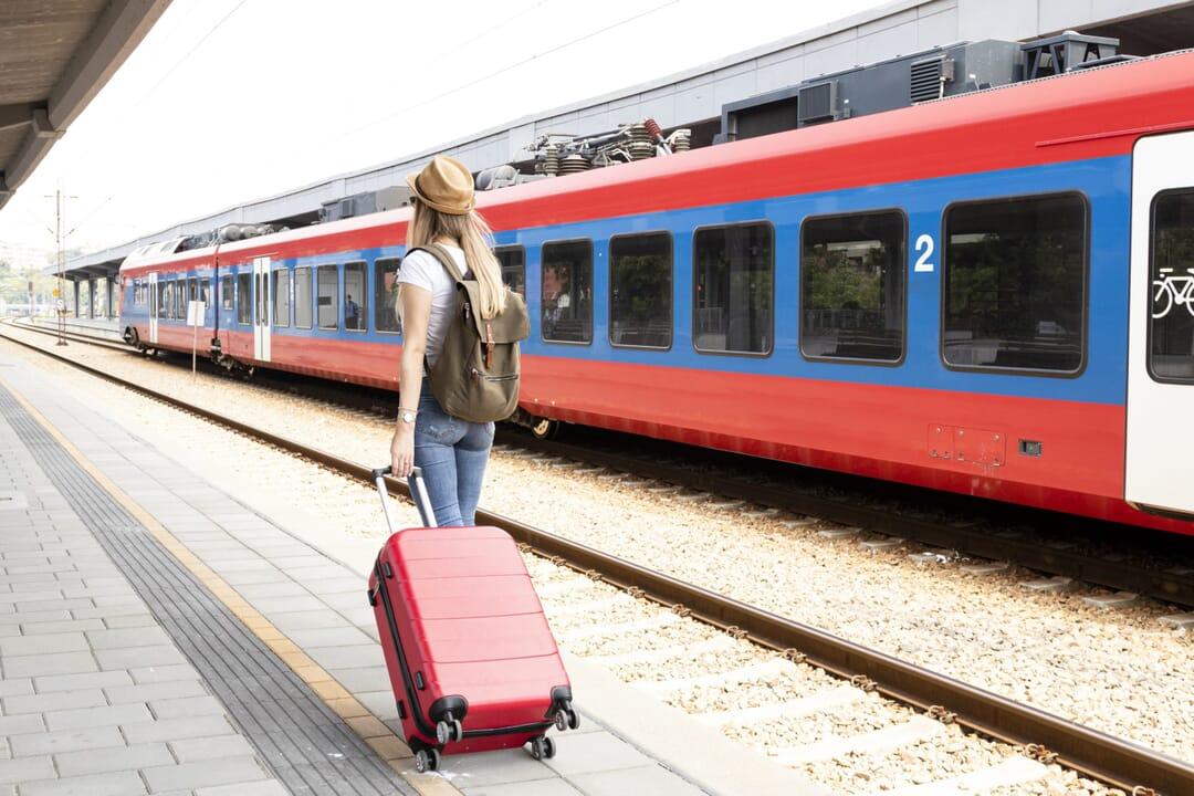 Viajar en tren coronavirus