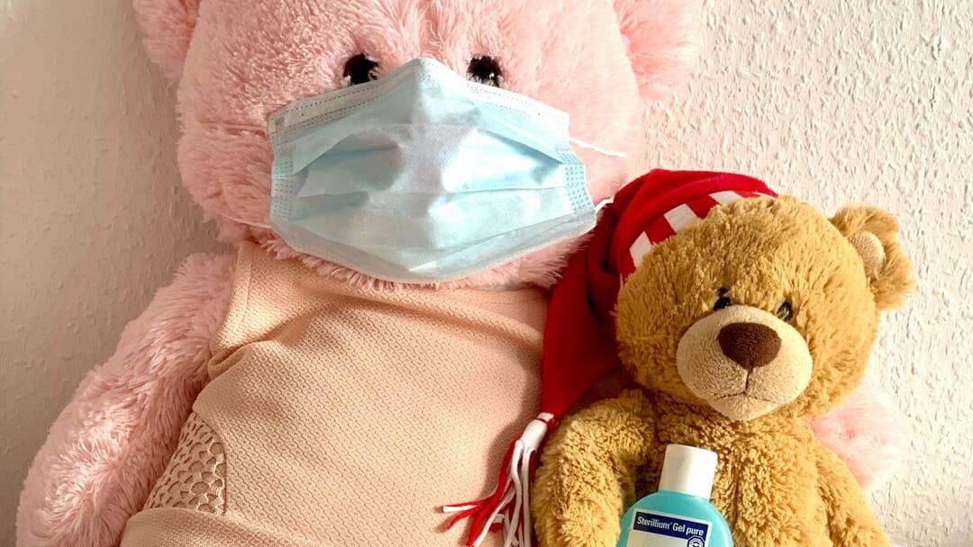 Ositos con mascarilla coronavirus
