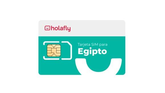Tarjeta SIM de datos Egipto de Holafly