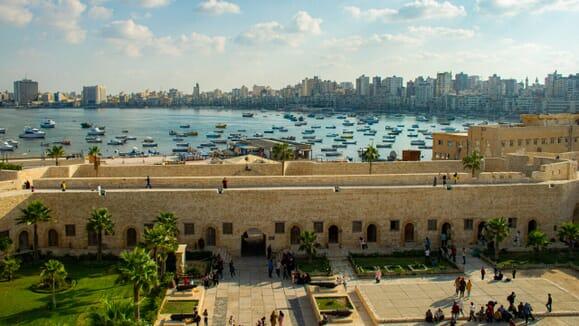 Ciudadela de Qaitbay, Egipto