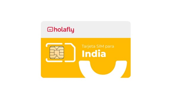 Tarjeta SIM India de Holafly