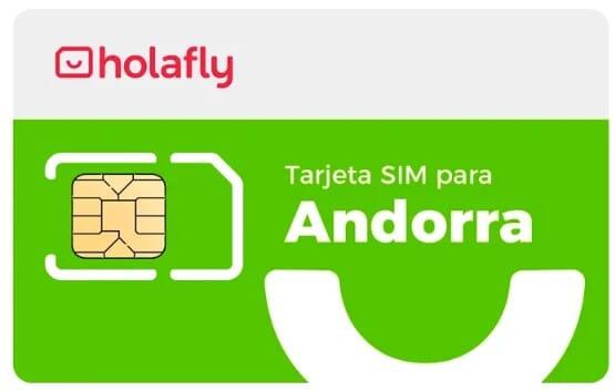 SIM datos Andorra de Holafly