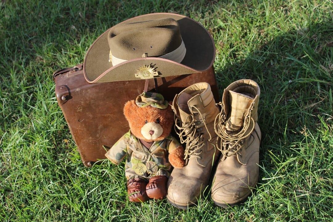Maleta y botas viaje Australia