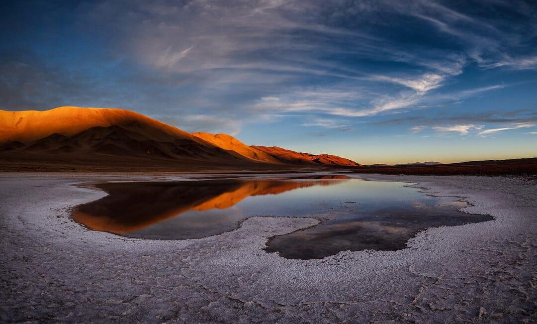 Desierto de Atacama de San Pedro,Chile.