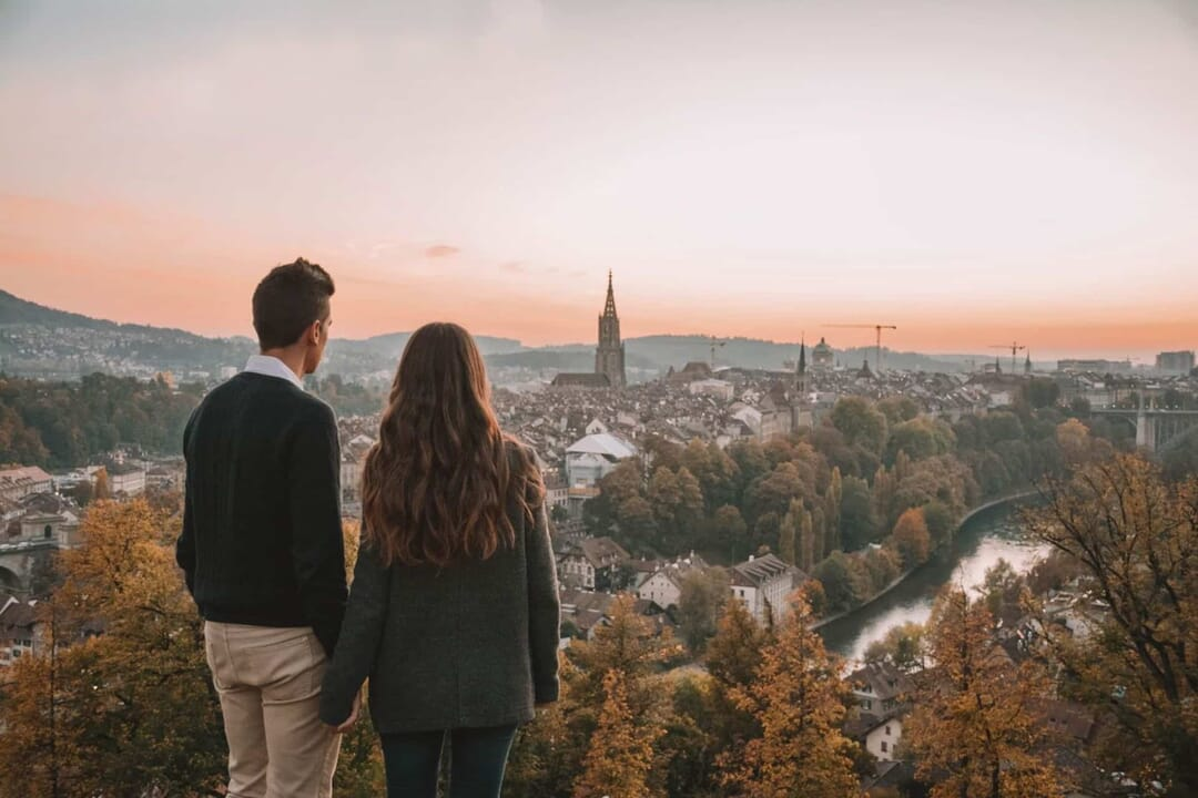 Los Traveleros en la ciudad de Berna (Suiza)