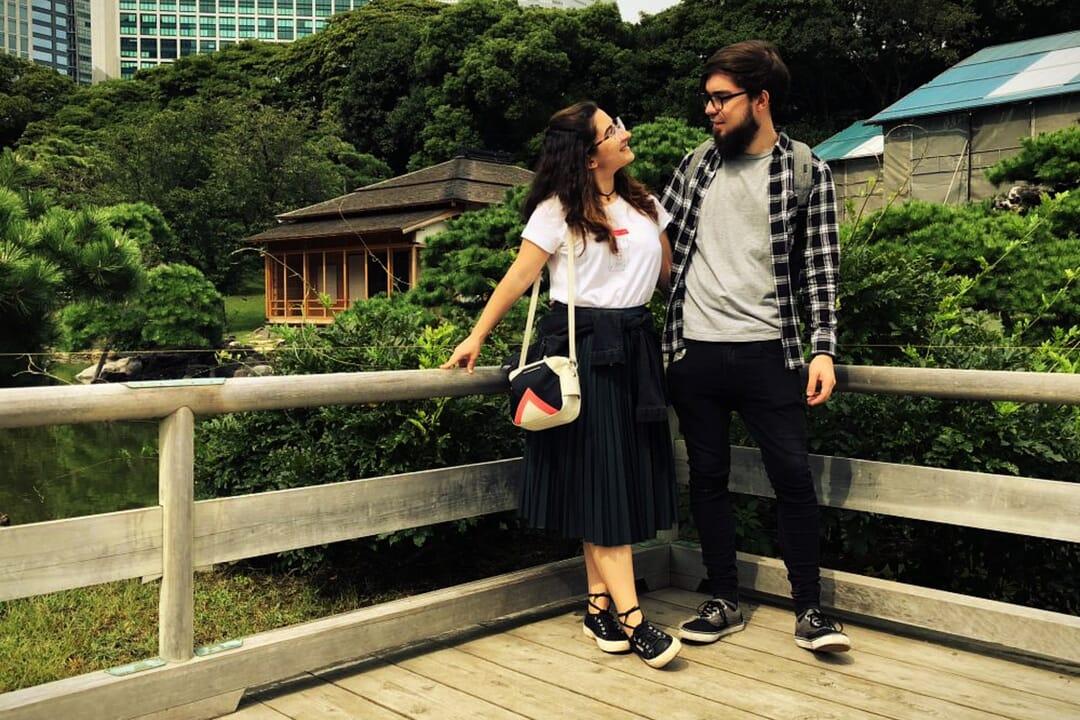 Pili y Carlos del blog Japón Alternativo