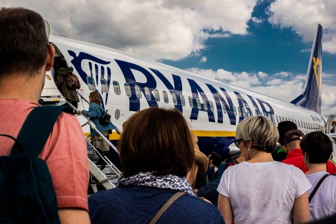 Subir equipaje cabina Ryanair