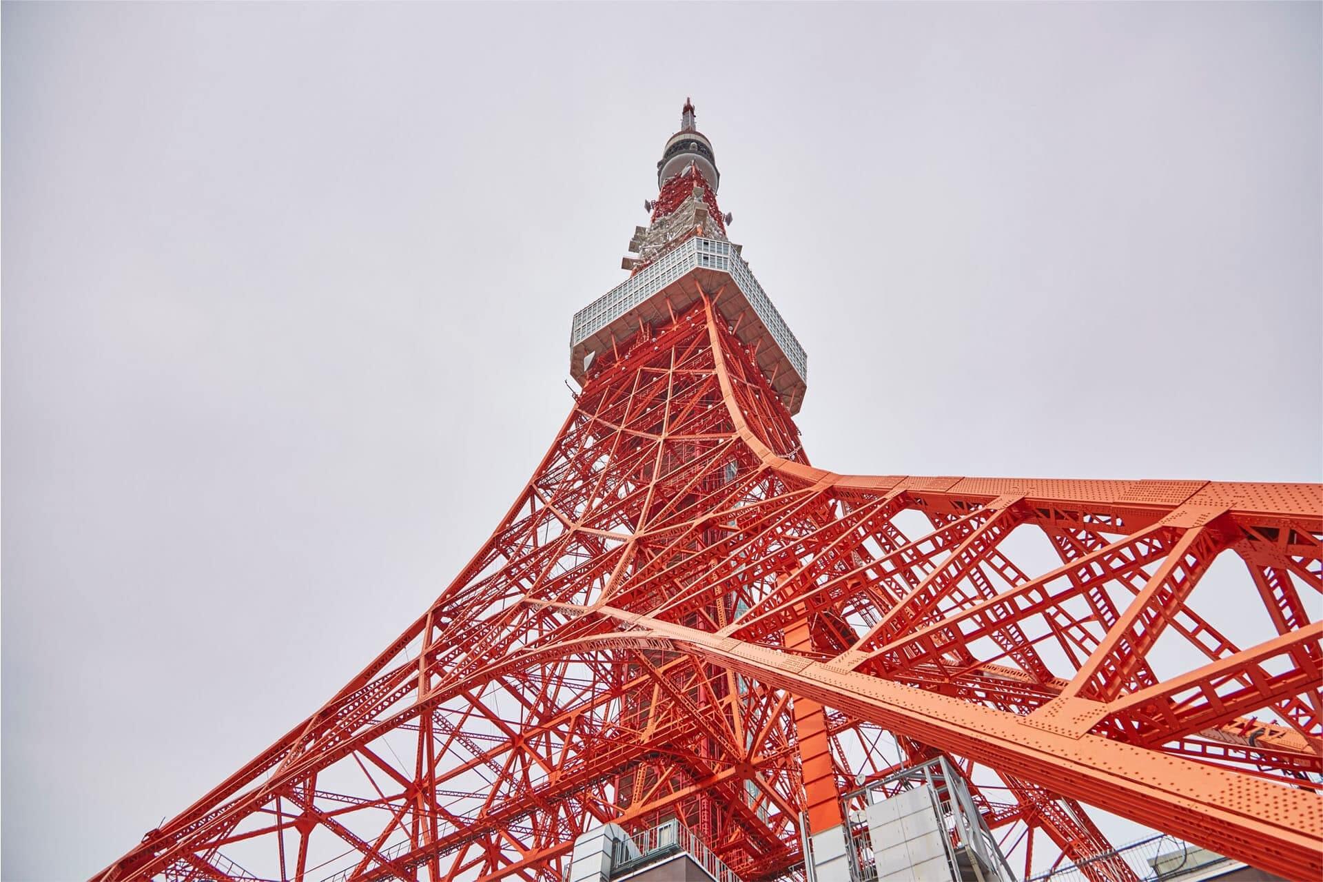 Torre de Tokio, Japón, 10 monumentos