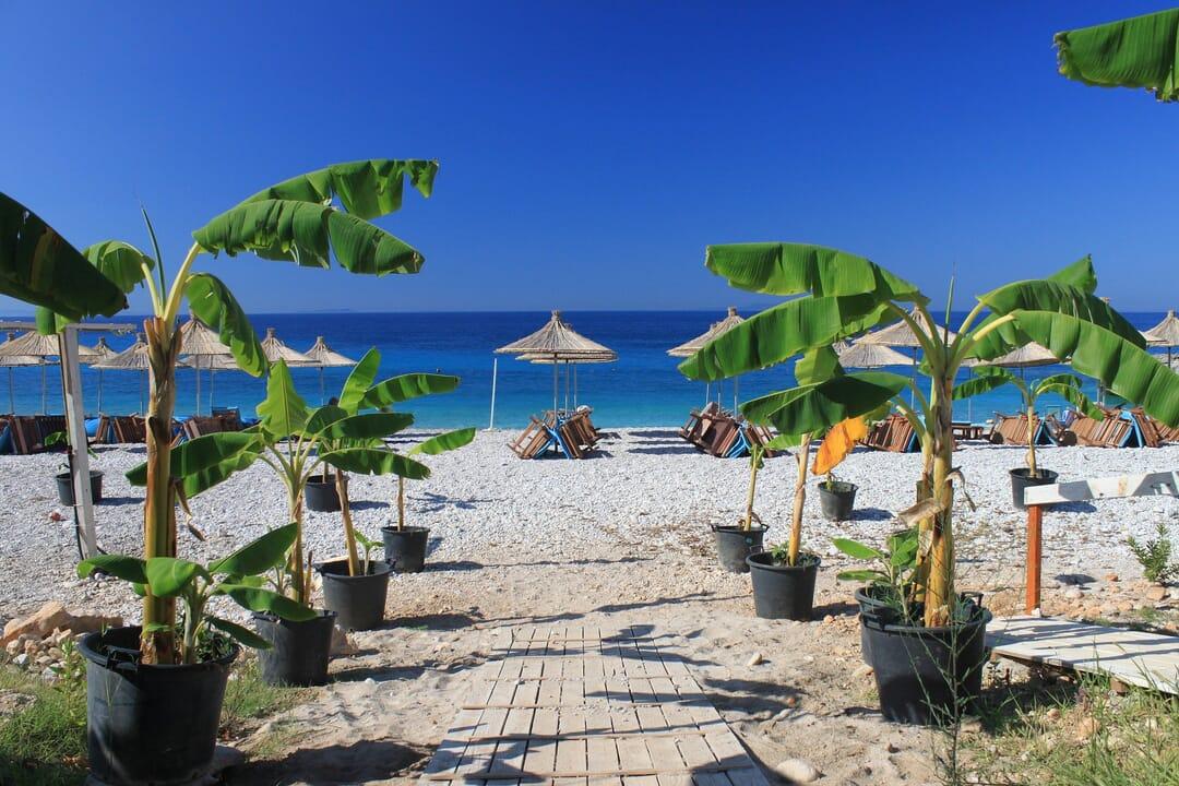 Playas Albania. Riviera Europea