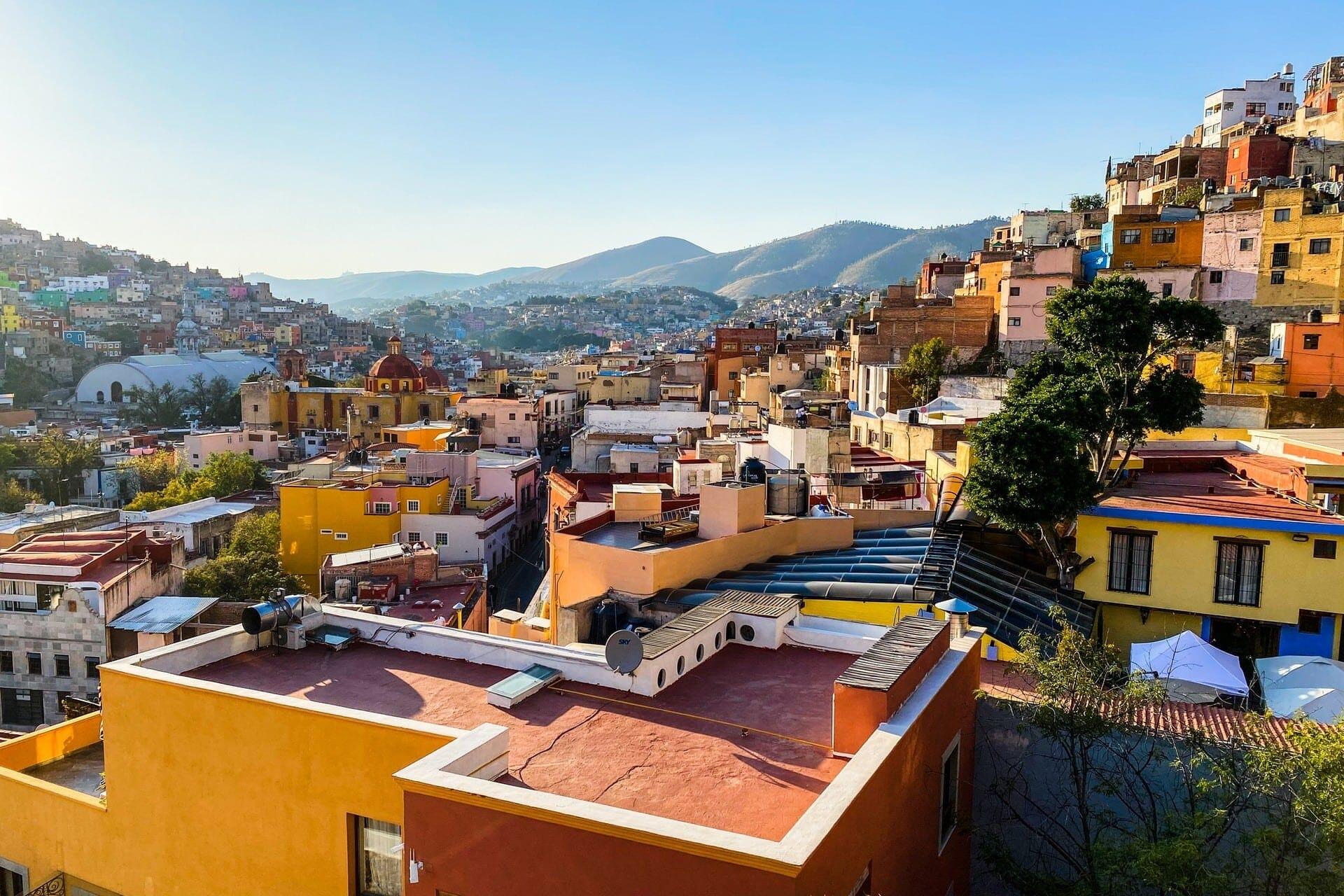 ciudad de Guanajuato, México.