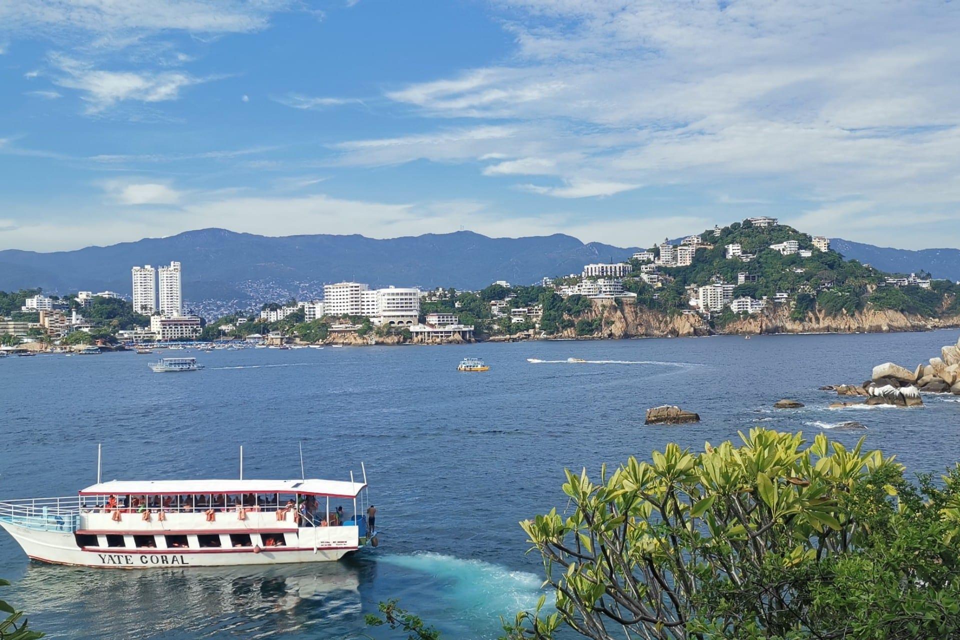 Acapulco y sus playas en México