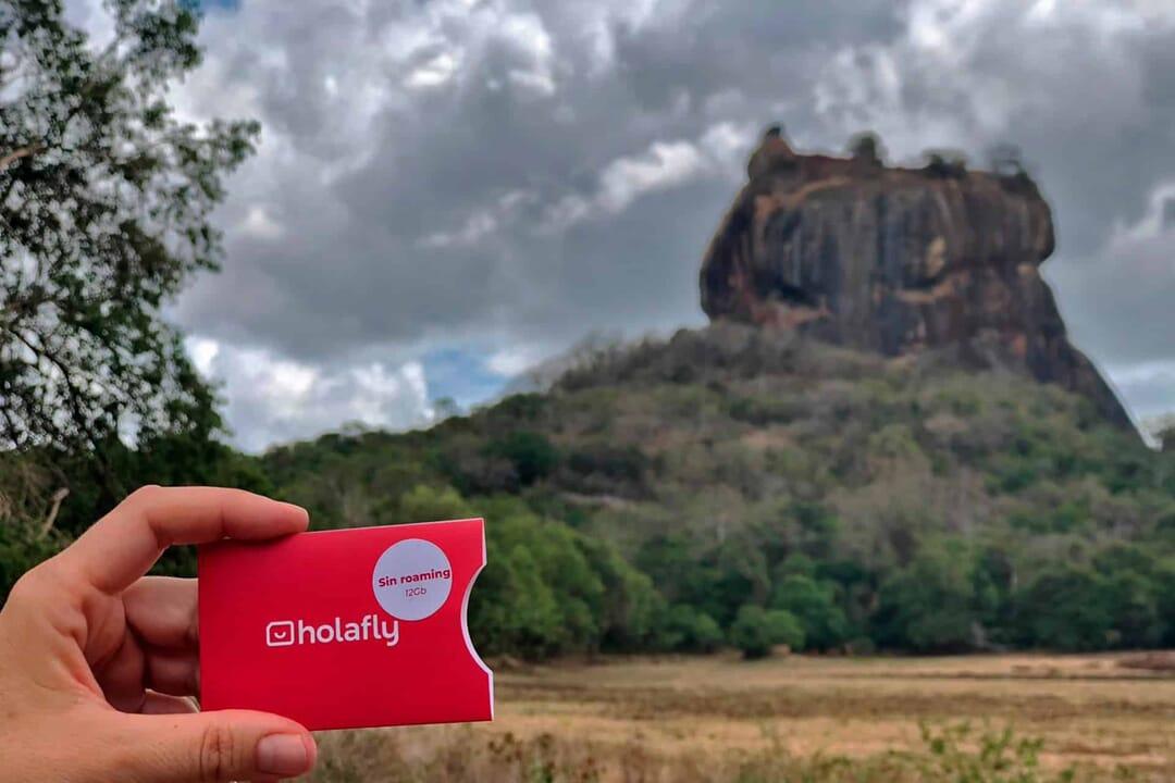 El Pachinko en Sri Lanka, Sigiriya