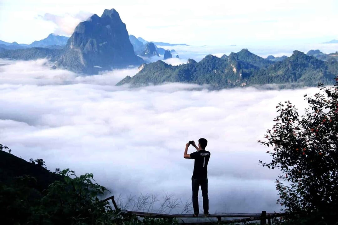 Van Vieng, Laos.